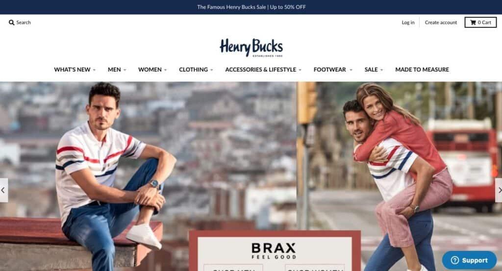 Henry Bucks Suit Tailors Melbourne
