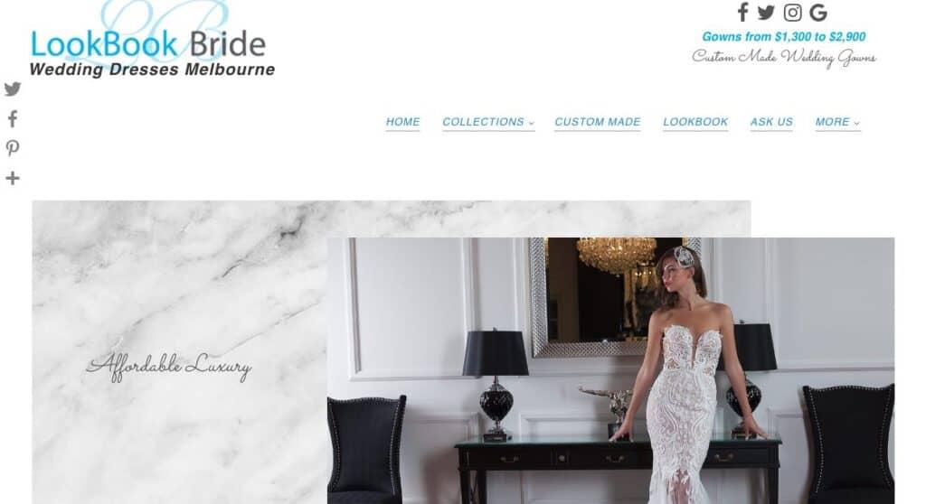 Lookbook Bride Couture Wedding Dress Maker Melbourne