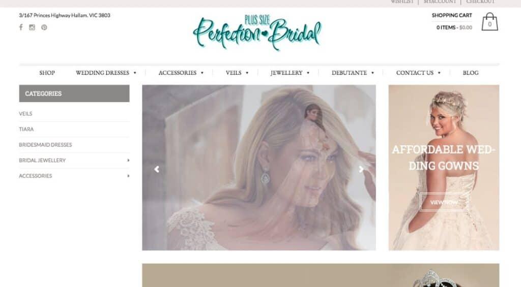 Plus Size Perfection Bridal Couture Wedding Dress Maker Melbourne