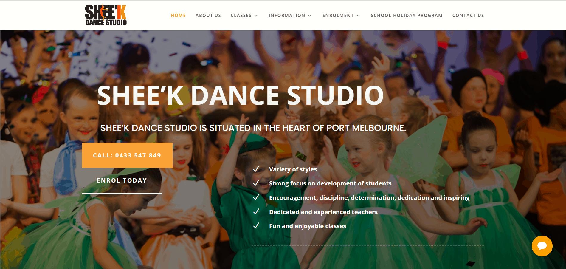 Sheek Dance Studio