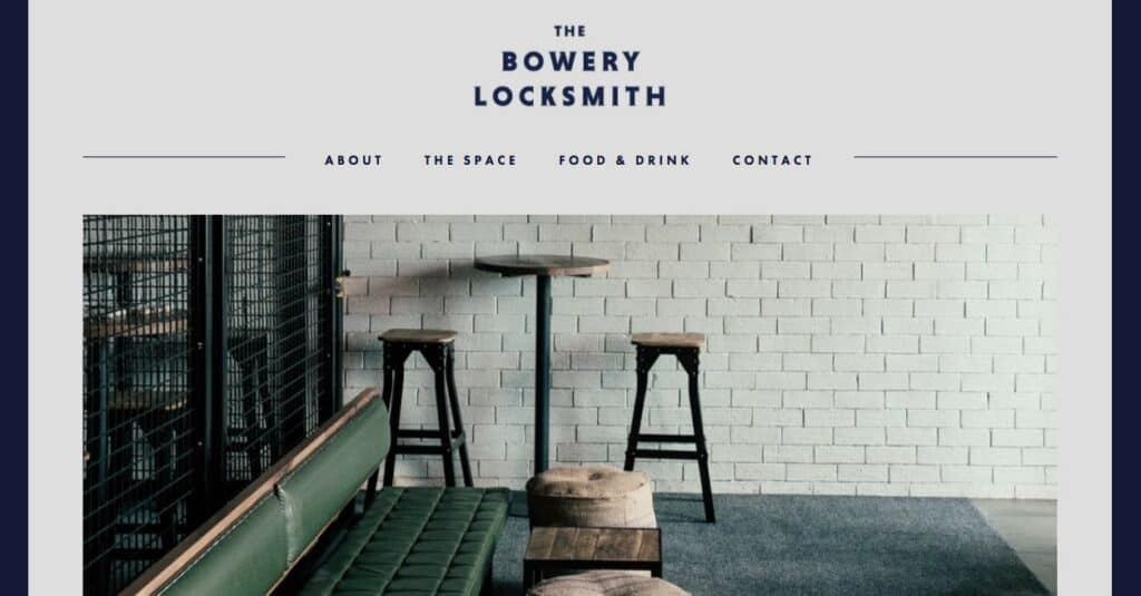 The Bowery Locksmith Engagement Party Venue Melbourne