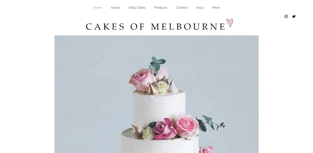 Cakes Of Melbourne