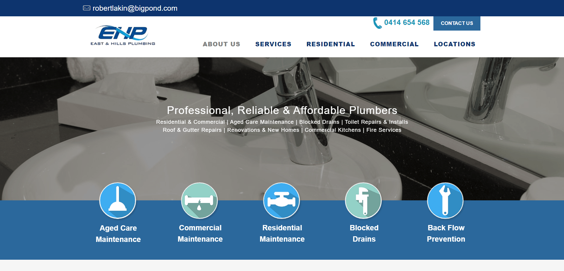 East And Hills Plumbing Services Melbourne