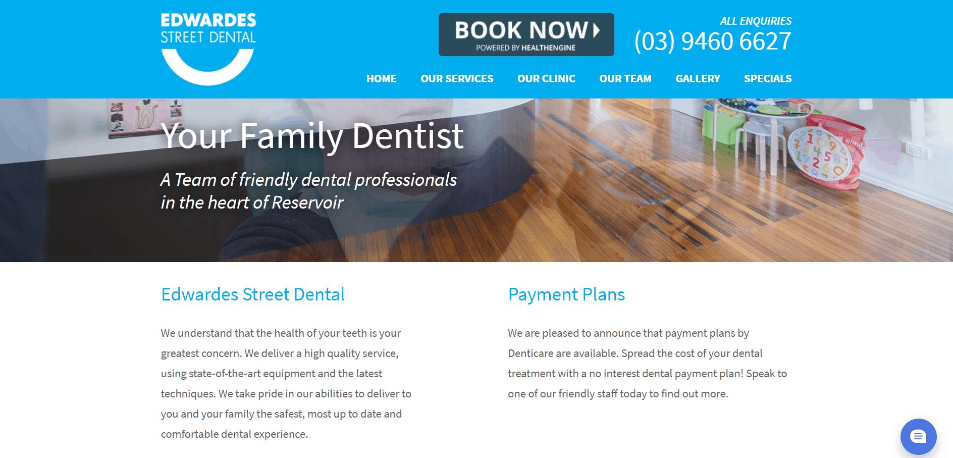 Edwardes Street Dental