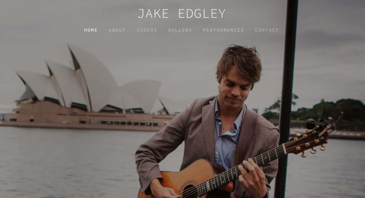 Jake Edgley Wedding Singers Sydney