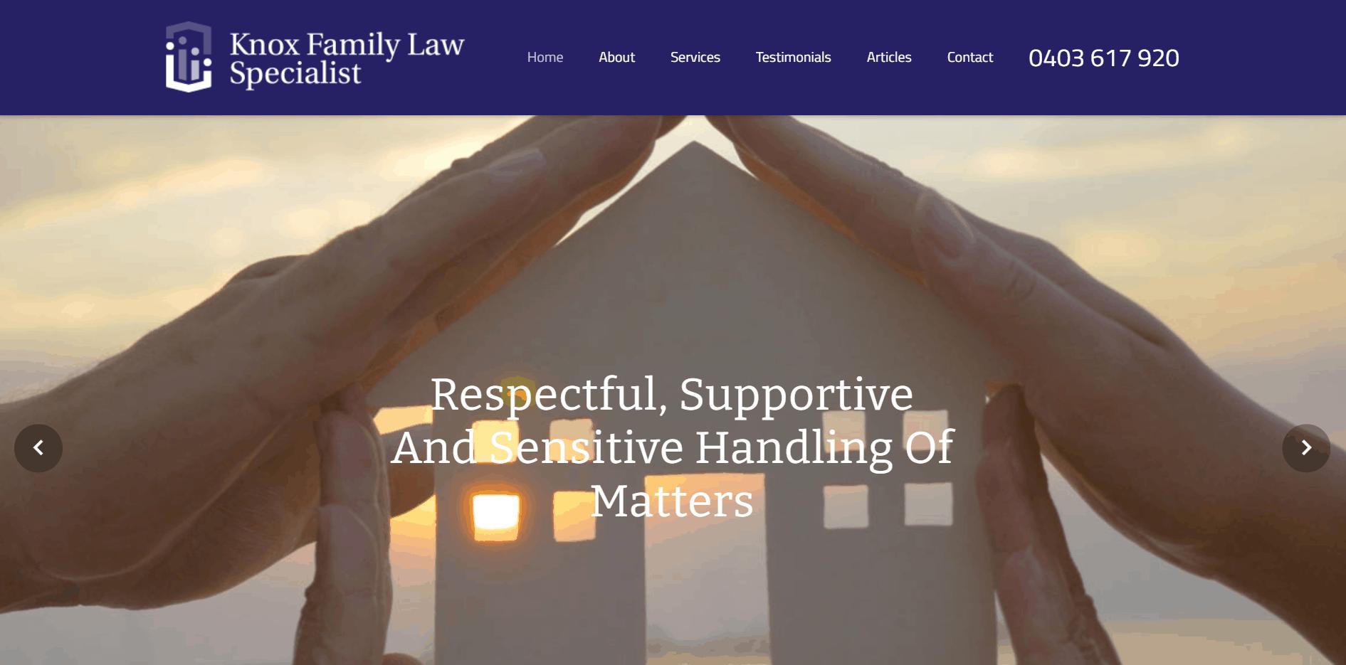 Knox Family Law Specialist