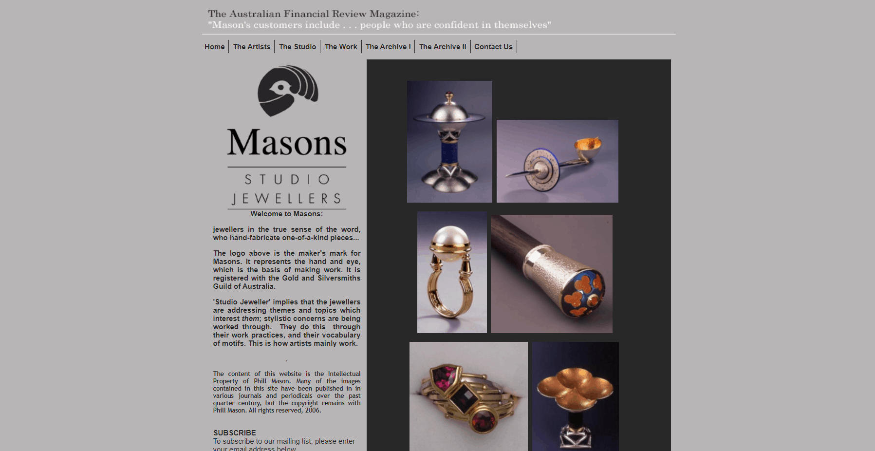 Masons Studio Jewellers