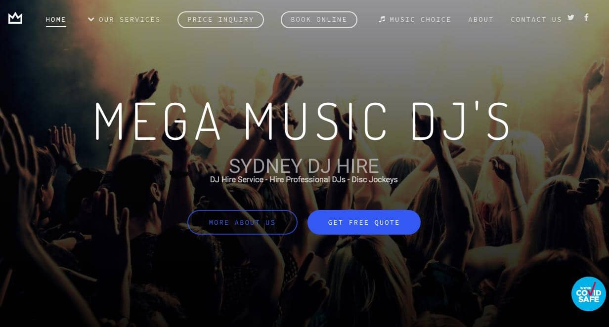 Mega Music Wedding Dj Hire Sydney