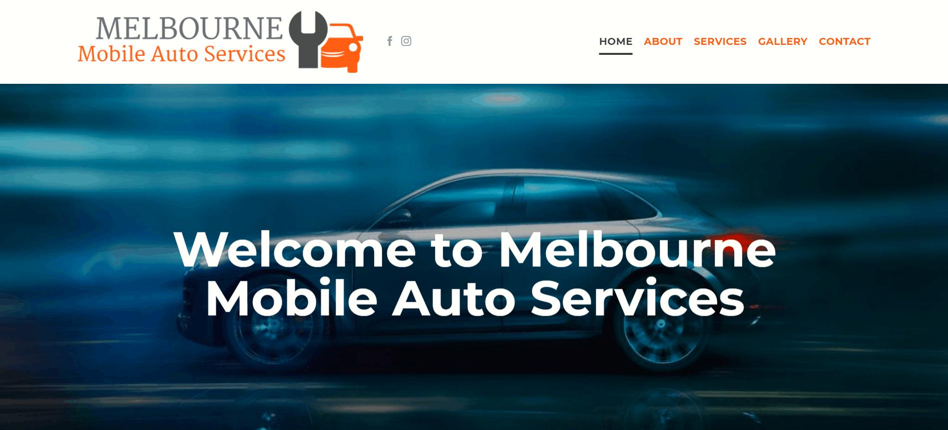 Melbourne Mobile Auto Services