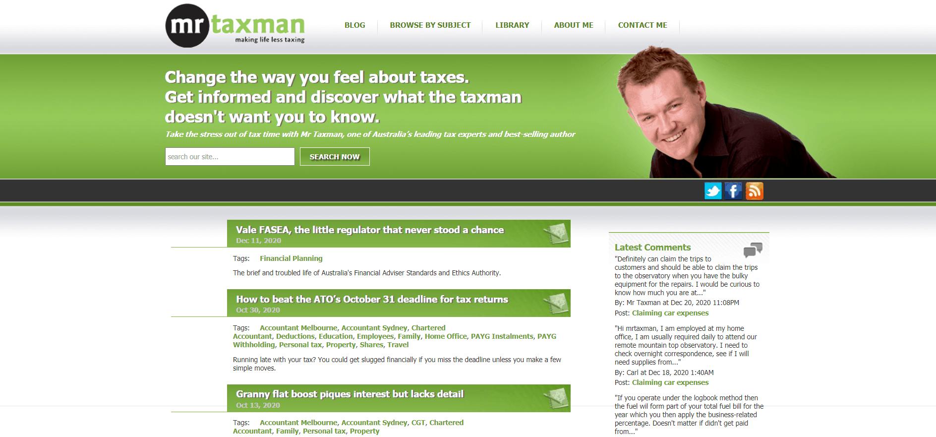 Mr Taxman
