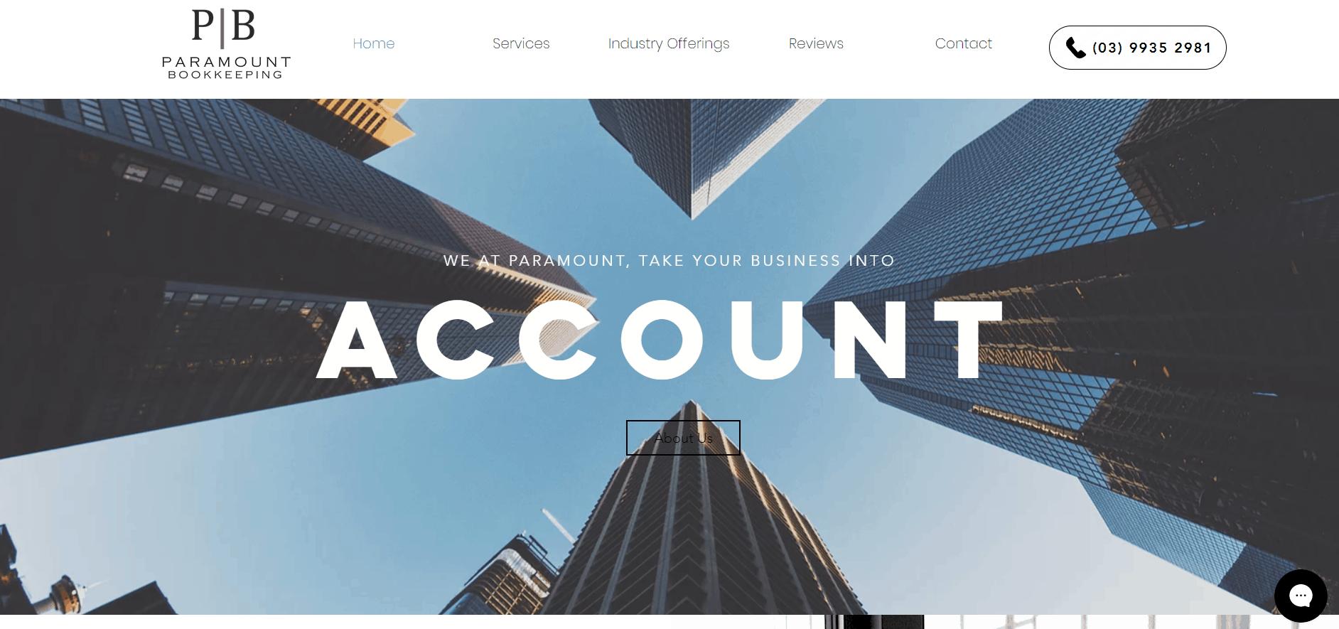 Paramount Bookkeeping