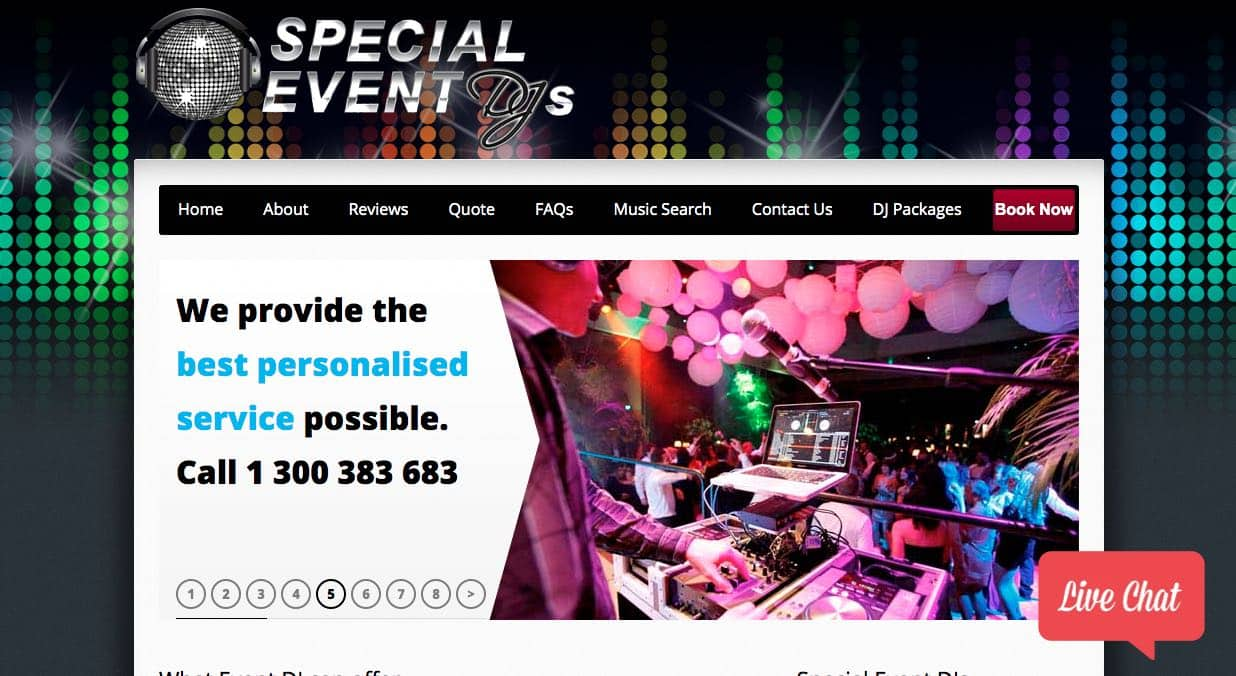 Special Event Dj Wedding Dj Sydney