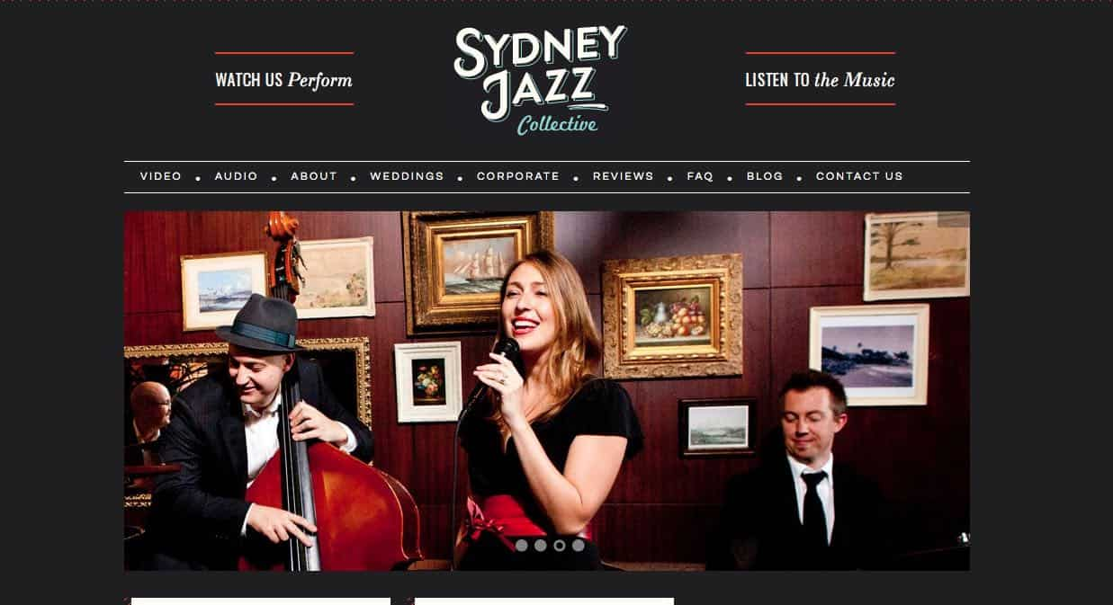 Sydney Jazz Collective Wedding Singers & Bands Sydney