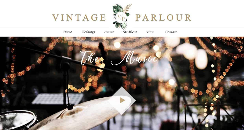 Vintage Parlour Wedding Singers & Bands Sydney