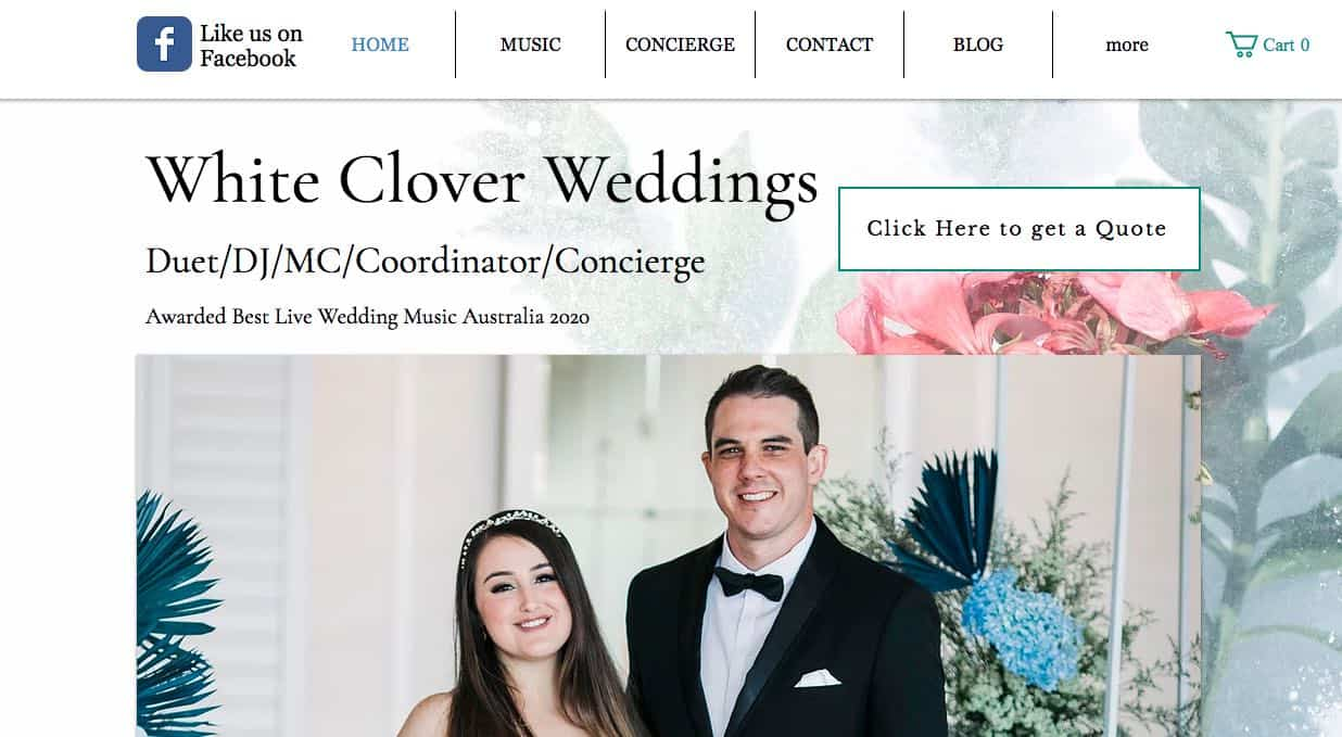 White Clover Music Wedding Singers & Bands In Sydney