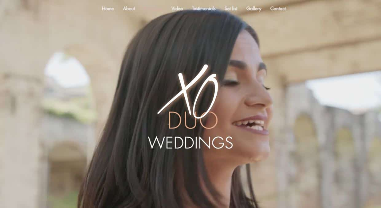 Xo Duo Wedding Singers & Bands Sydney