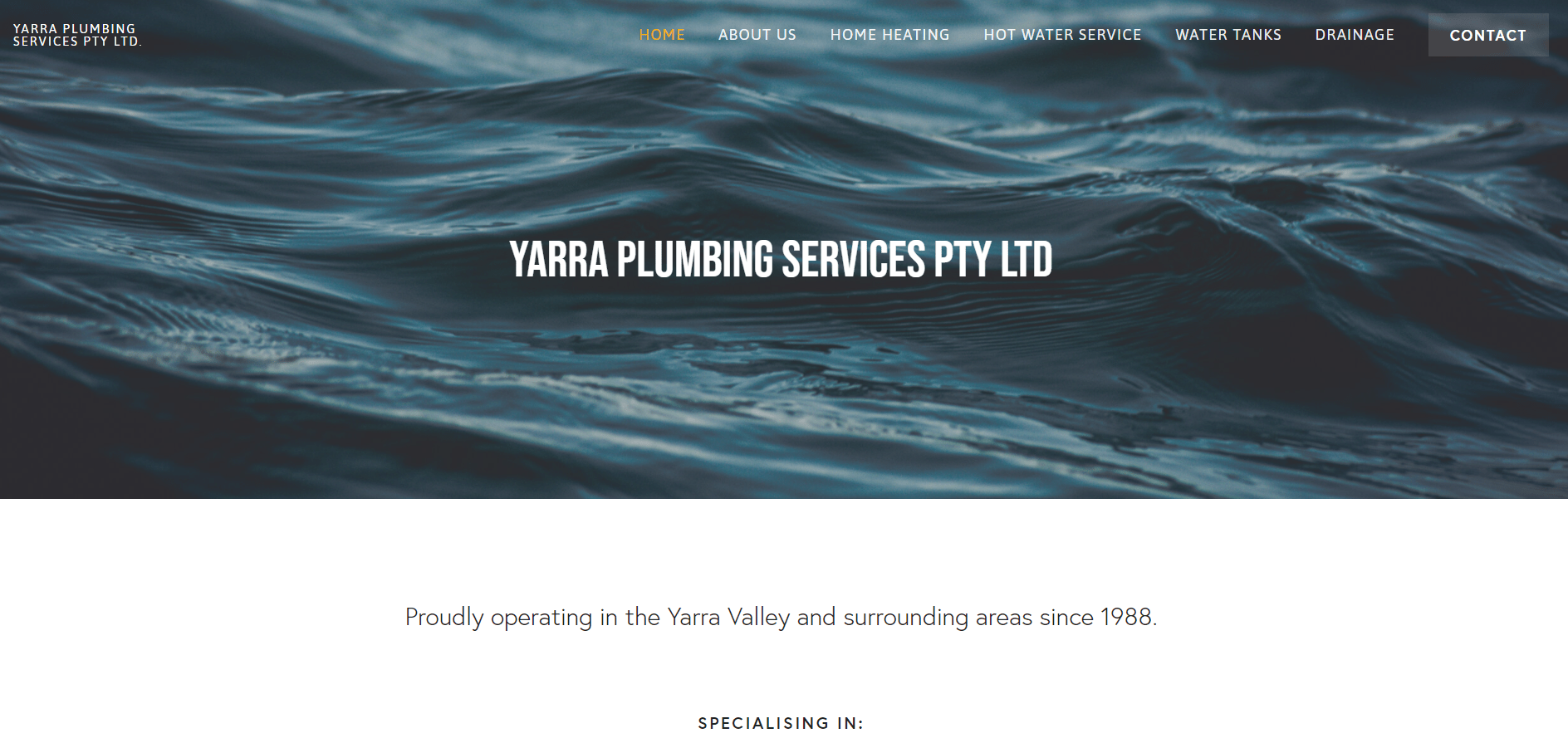 Yarra Plumbing Services Pty Ltd