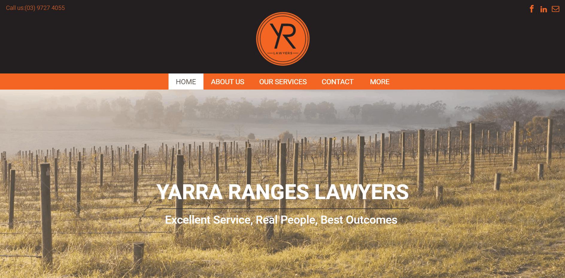 Yarra Ranges Lawyers