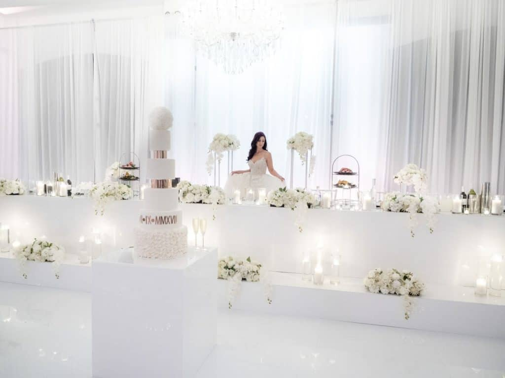 White Wedding At Vogue Ballroom 1 1024x768