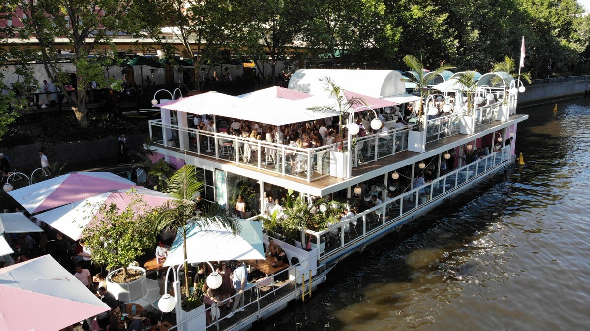 Arbory Afloat Christmas Lunch Idea Melbourne