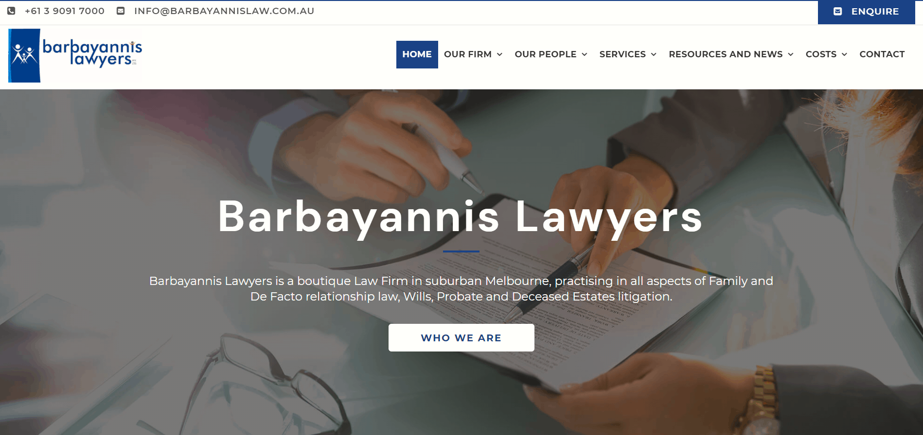 Barbayannis Lawyers