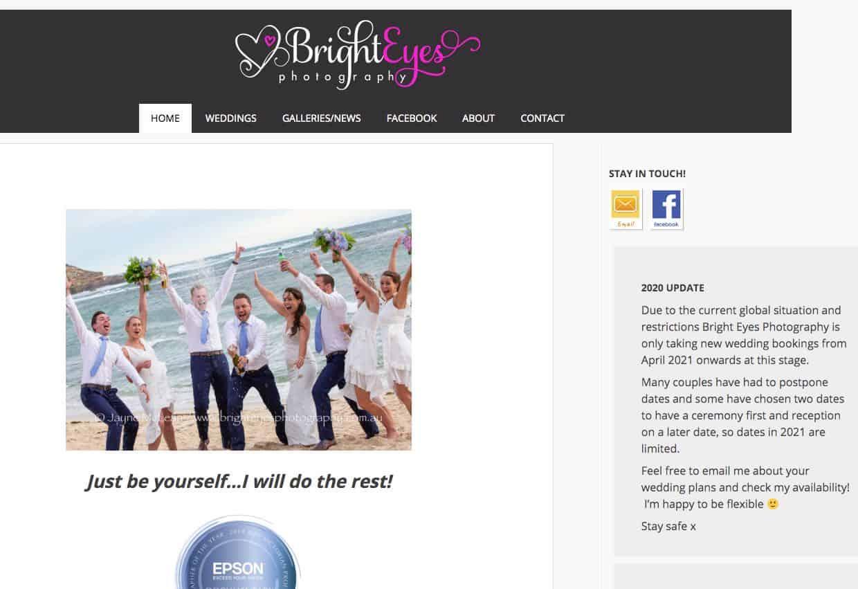 Bright Eyes Wedding Photography Mornington Peninsula