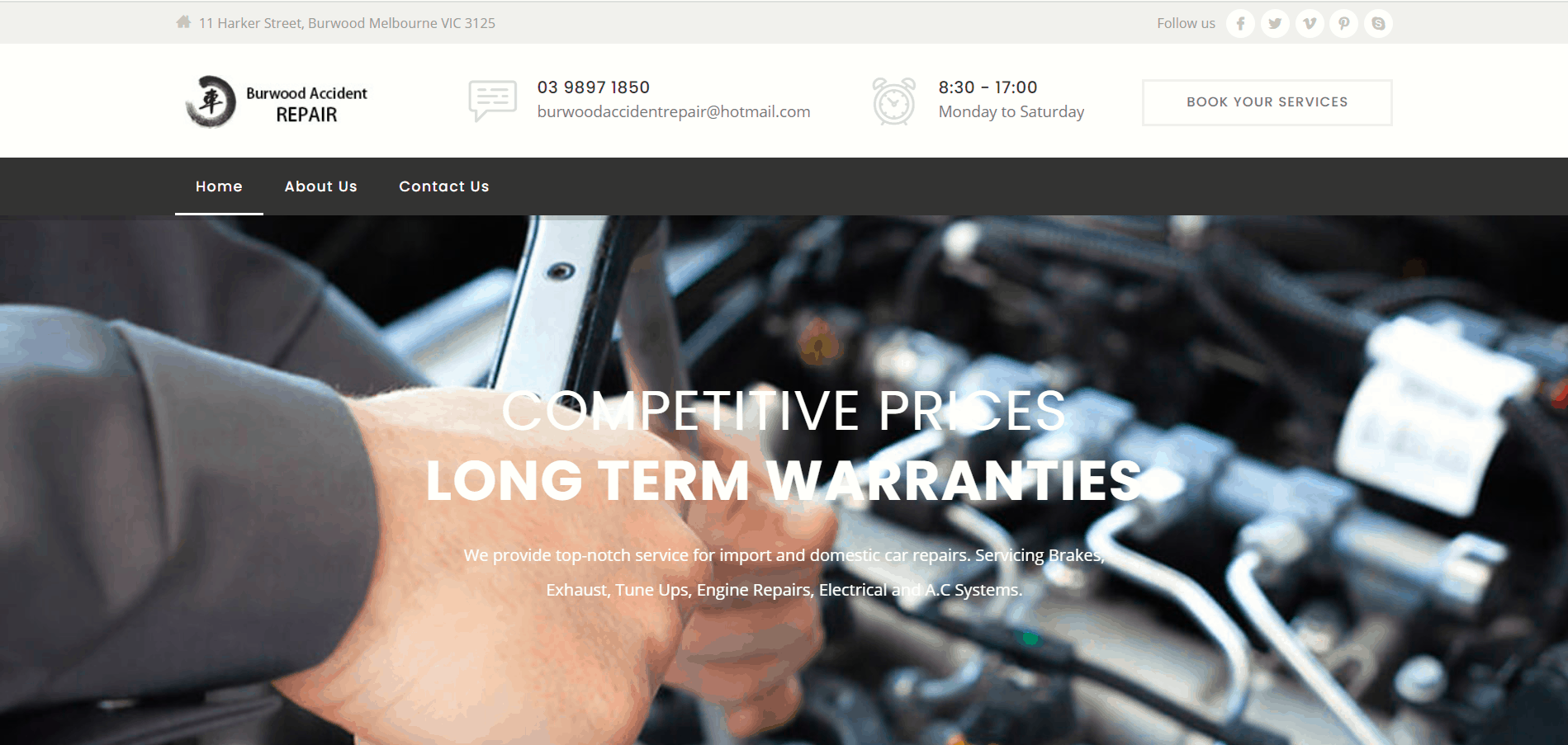 Burwood Accident Repair