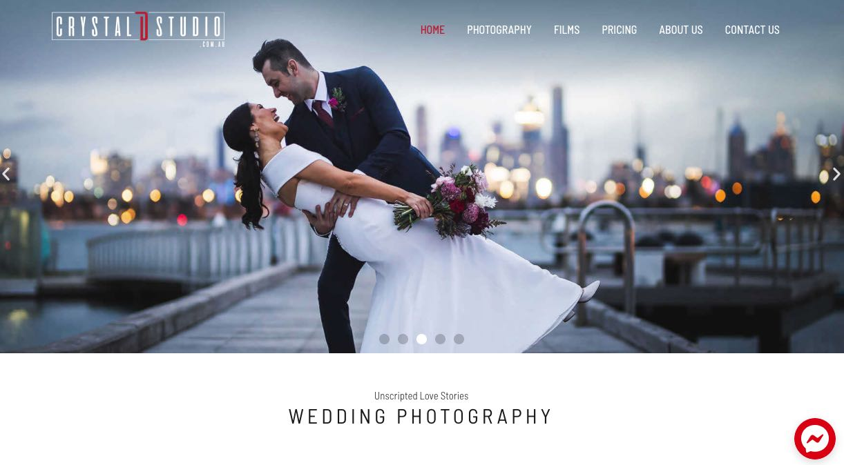 Crystal D. Studio Wedding Videographer Yarra Valley