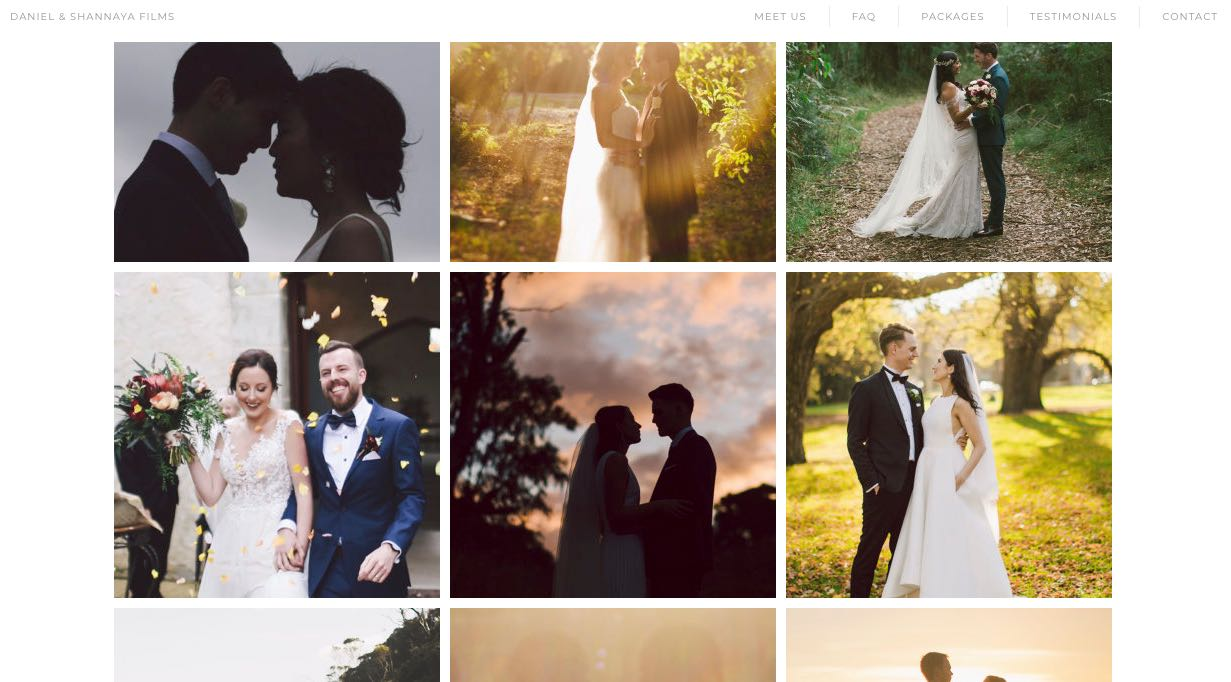 Daniel and Shannaya Films - Wedding Videographer Mornington Peninsula