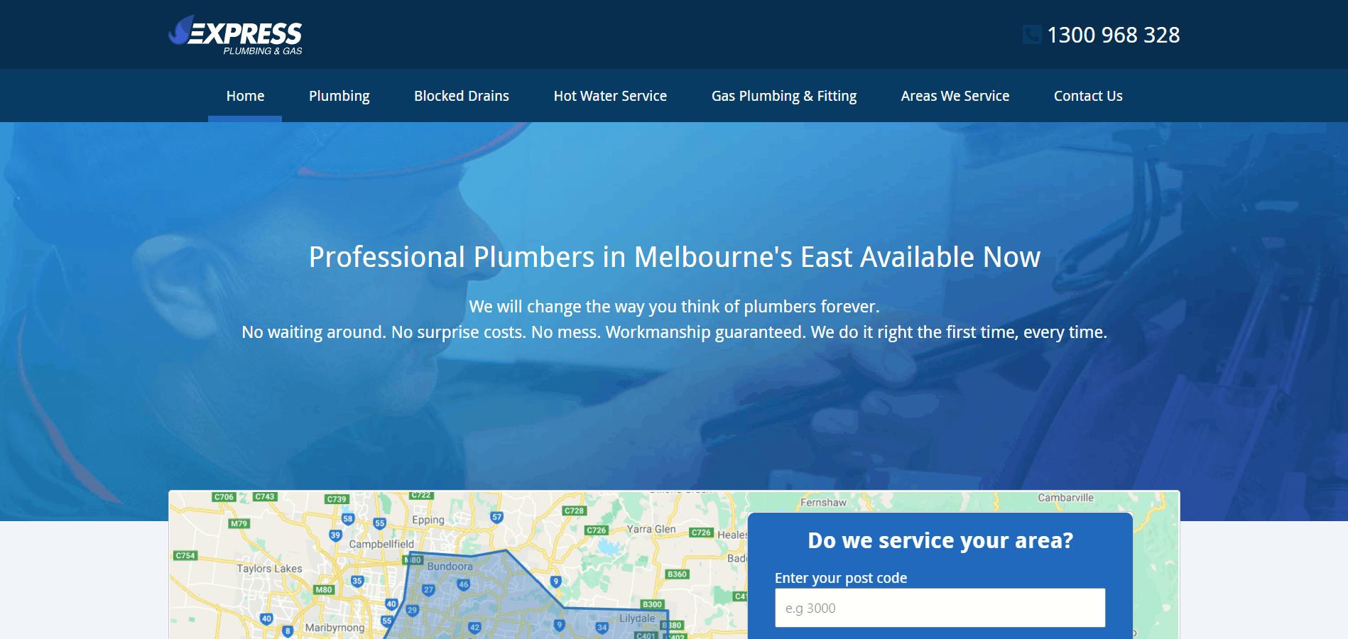 Express Plumbing & Gas