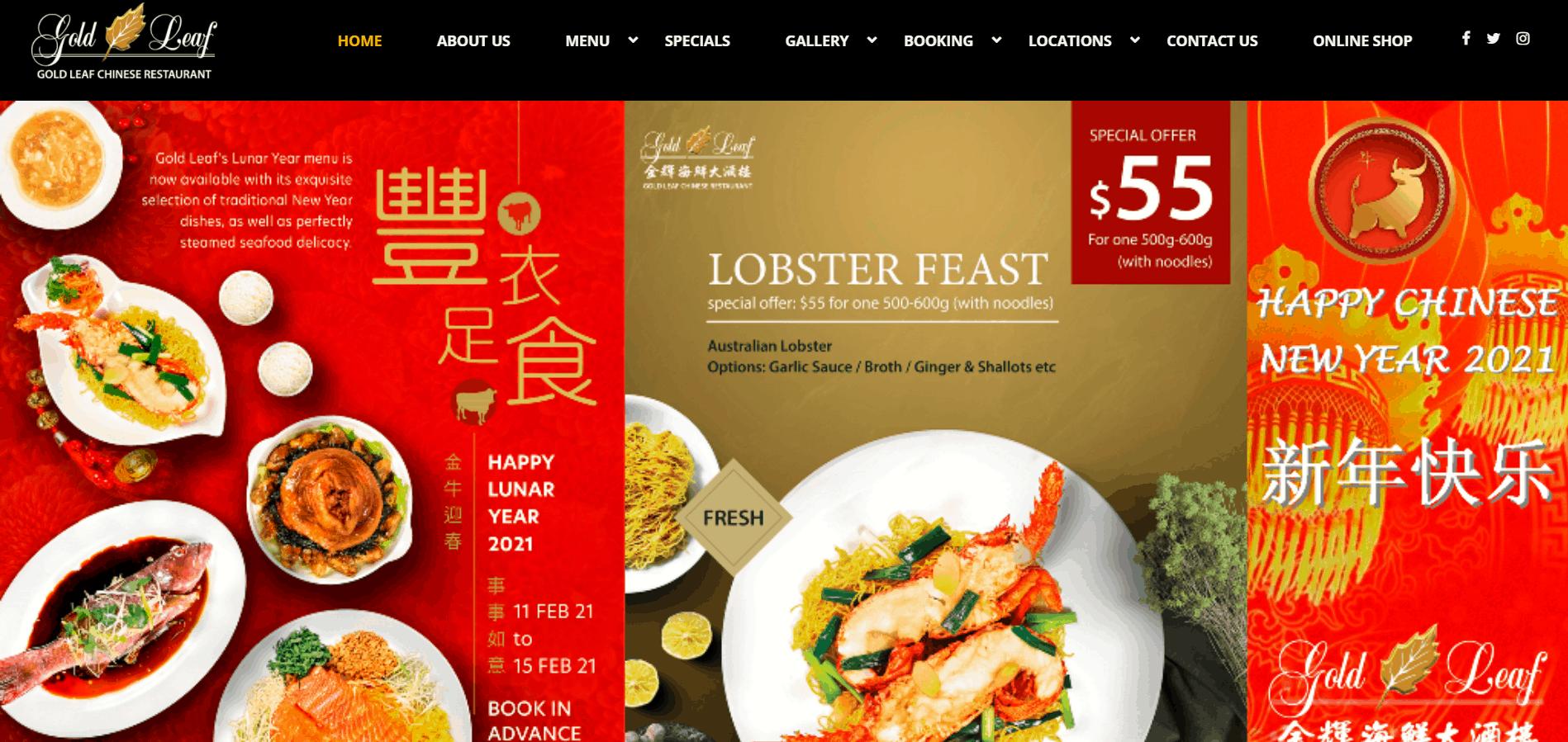 Gold Leaf Chinese Restaurant