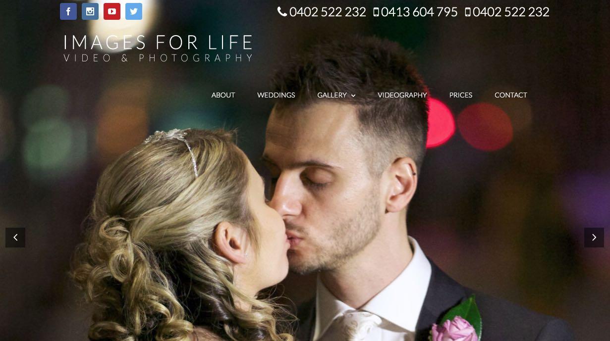 Images For Life Wedding Videographer Mornington Peninsula