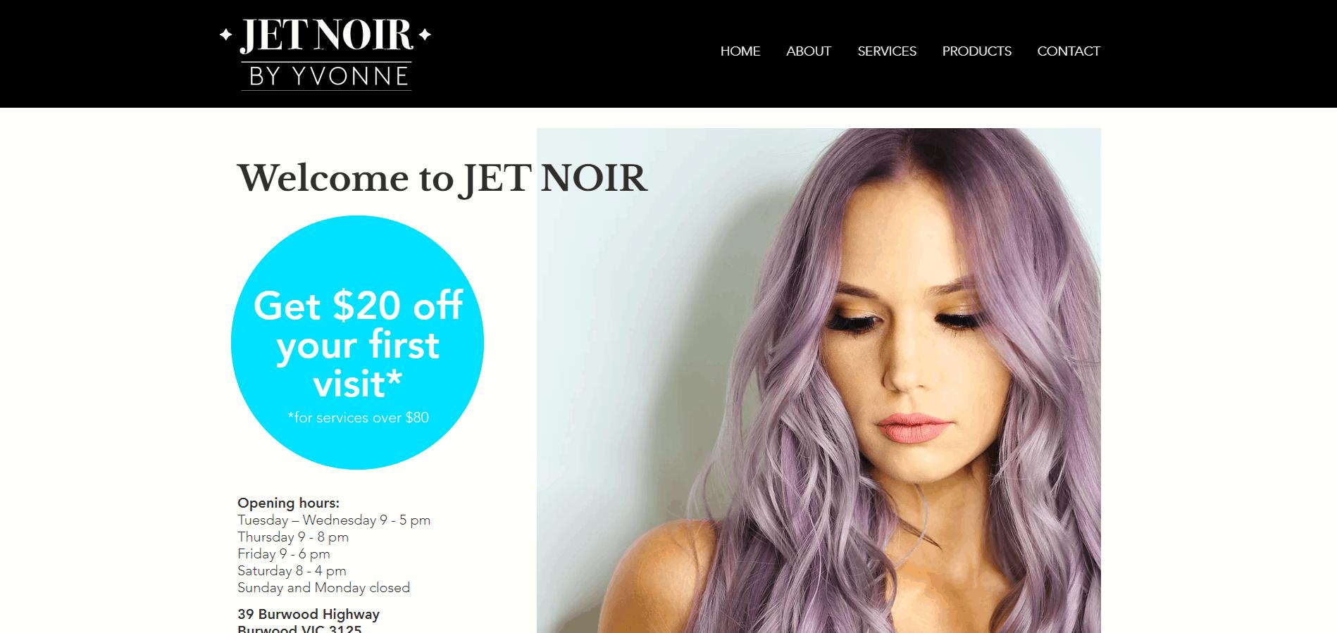 Jet Noir By Yvonne