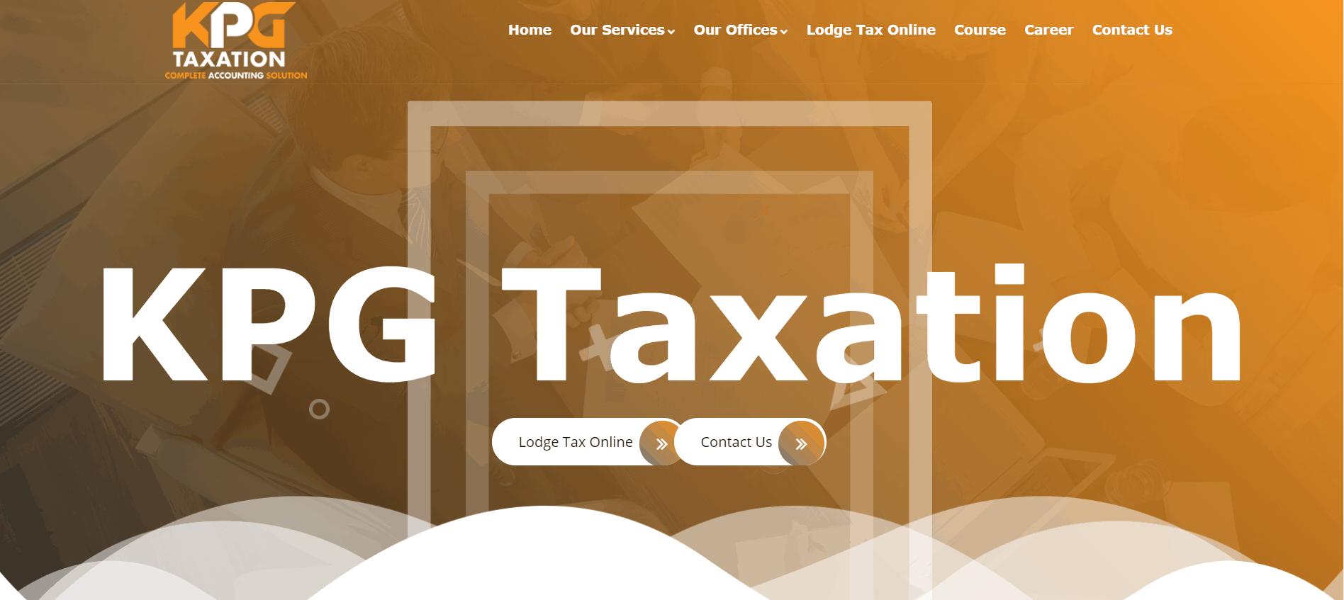 Kpg Taxation