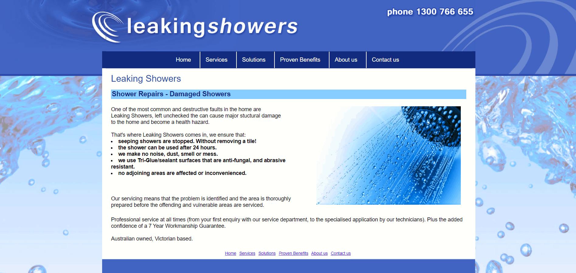 Leakin Showers