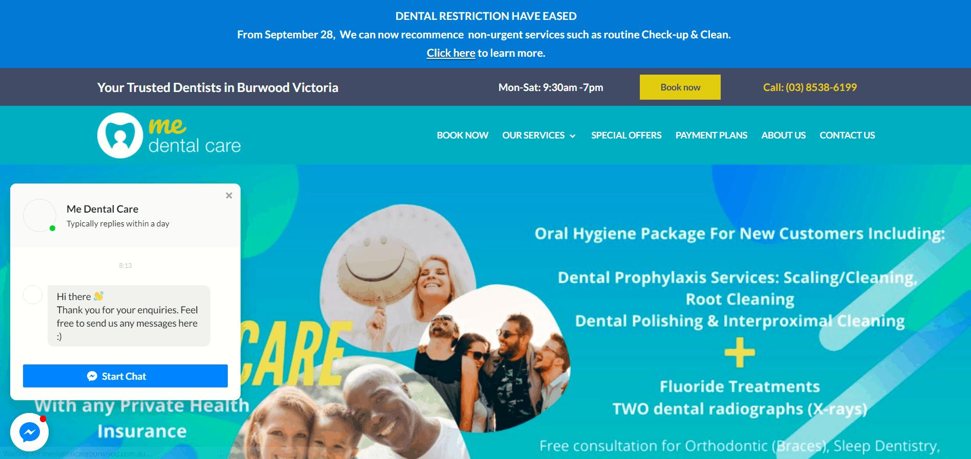 Me Dental Care
