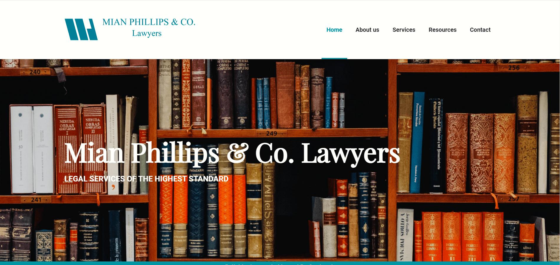 Mian Phillips & Co. Lawyers