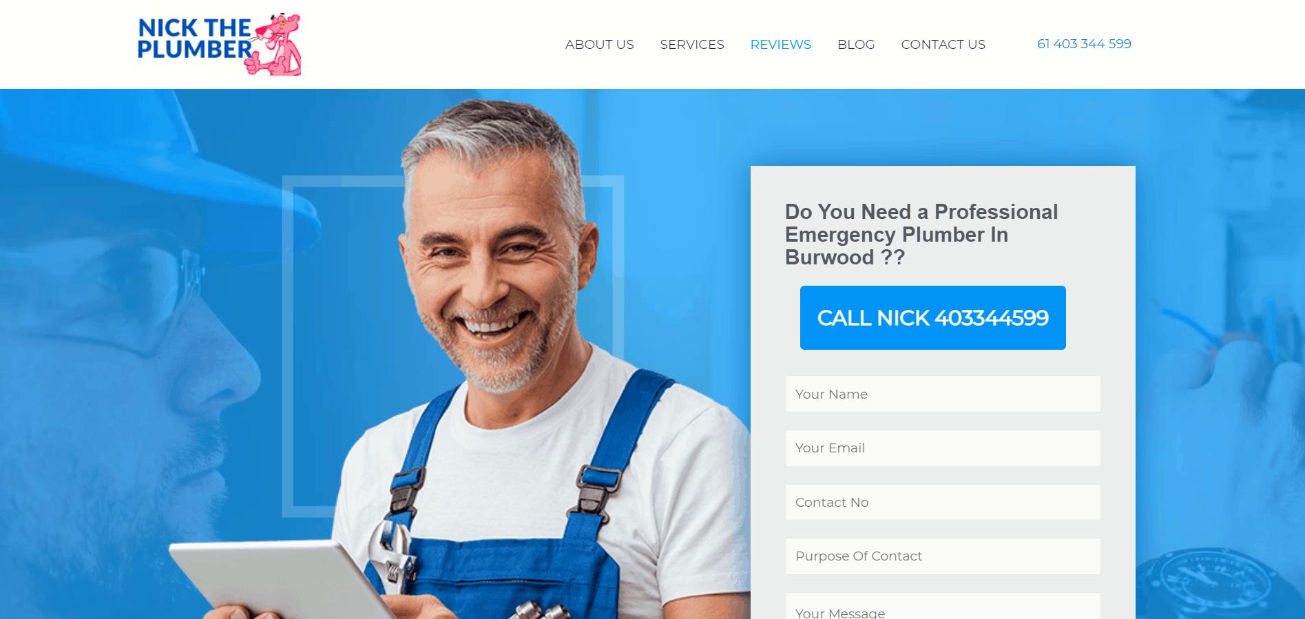 Nick The Plumber