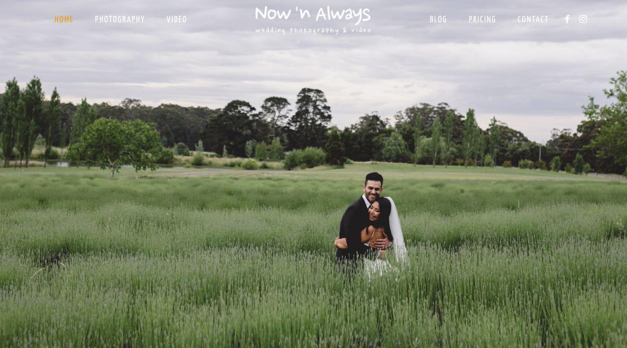 Now and Always Wedding Videographer Mornington Peninsula
