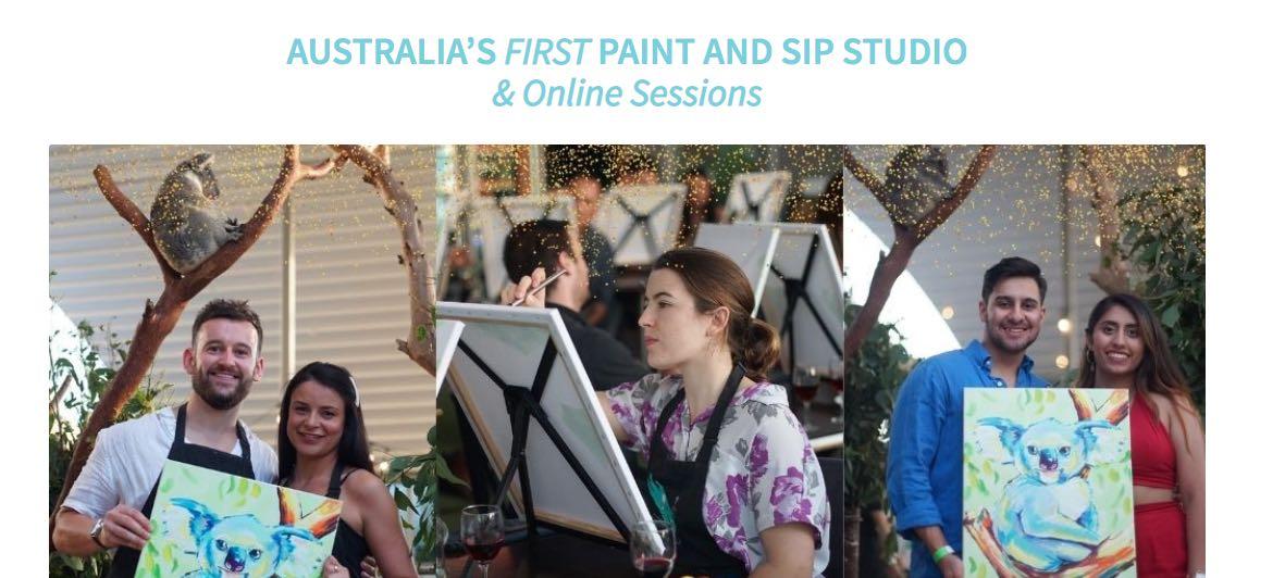 Paint Your Partner Valentine's Day Ideas Melbourne