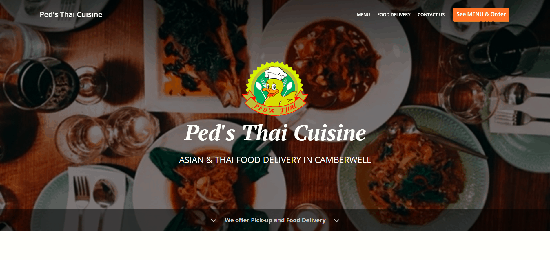Ped S Thai Cuisine Food Delivery Camberwell