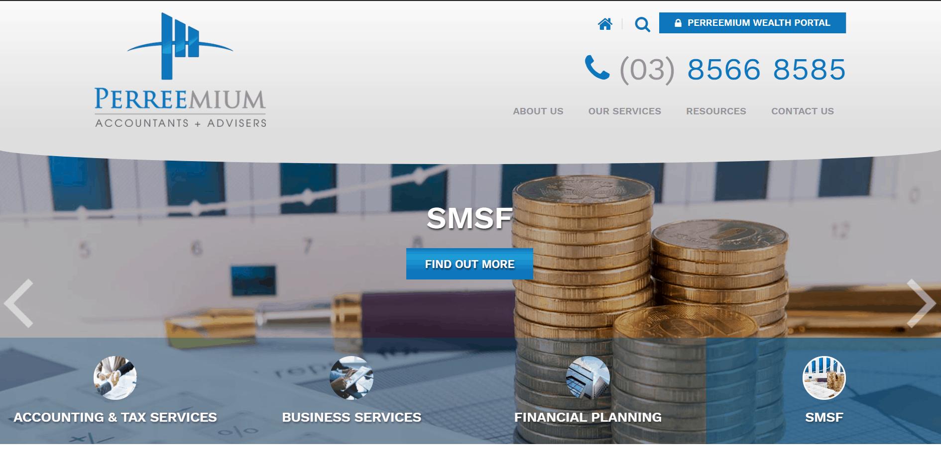 Perreemium Wealth Portal