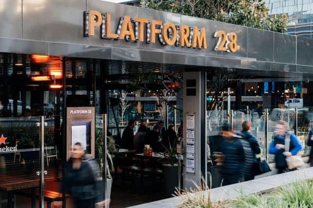 Platform 28 New Year's Eve Dinner Melbourne
