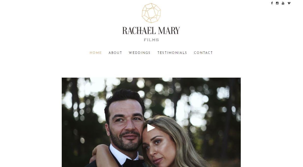Rachael Mary Films Wedding Videographer Yarra Valley