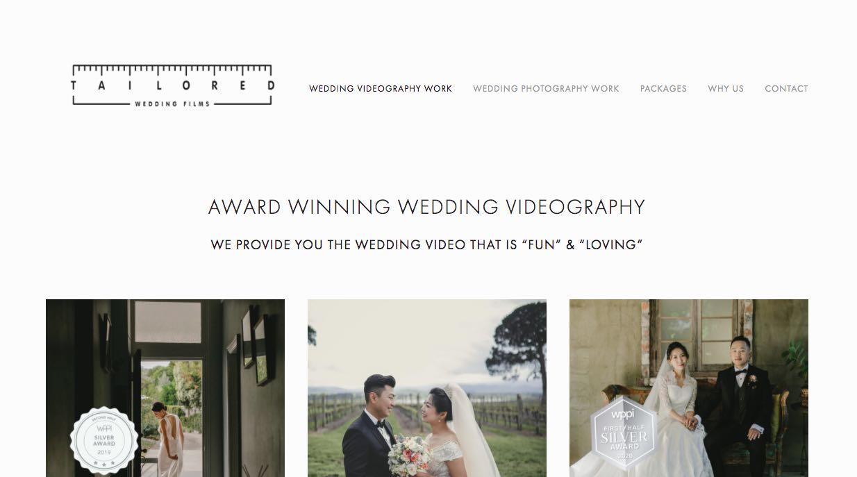Tailored Wedding Films Wedding Videographer Yarra Valley