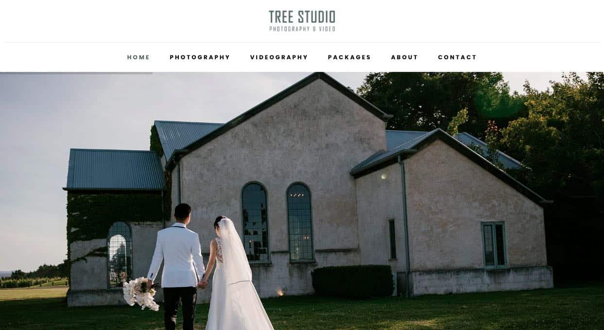 Tree Studio Wedding Photography Mornington Peninsula