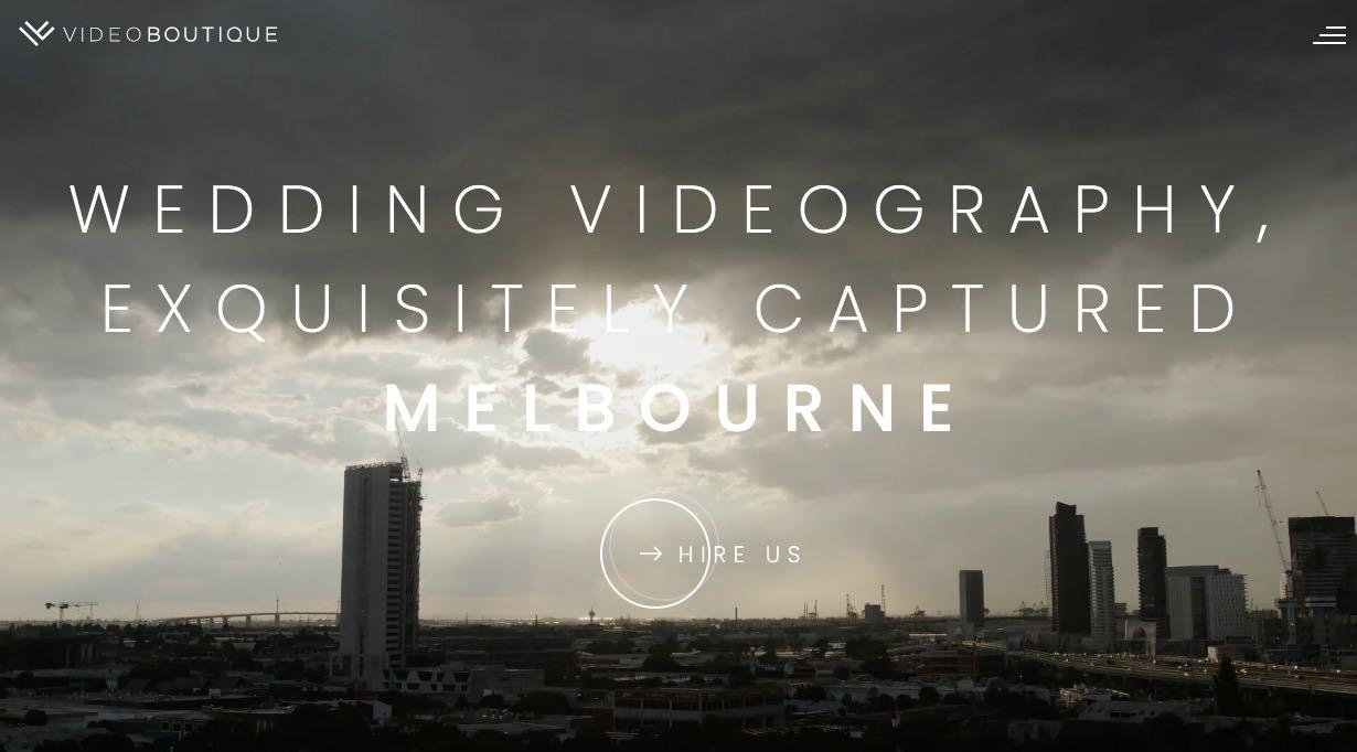 Videoboutique Wedding Videographer Yarra Valley