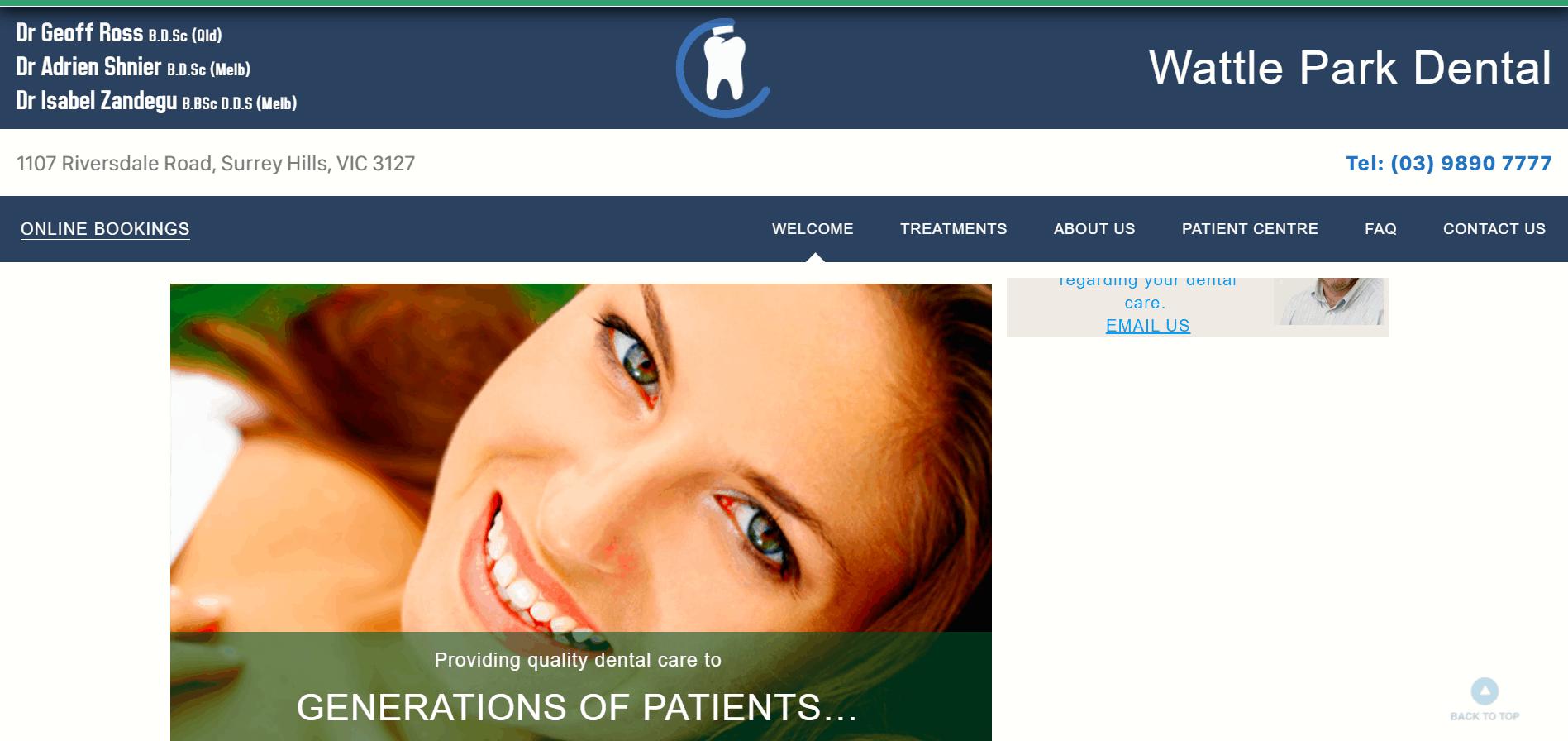 Wattle Park Dental