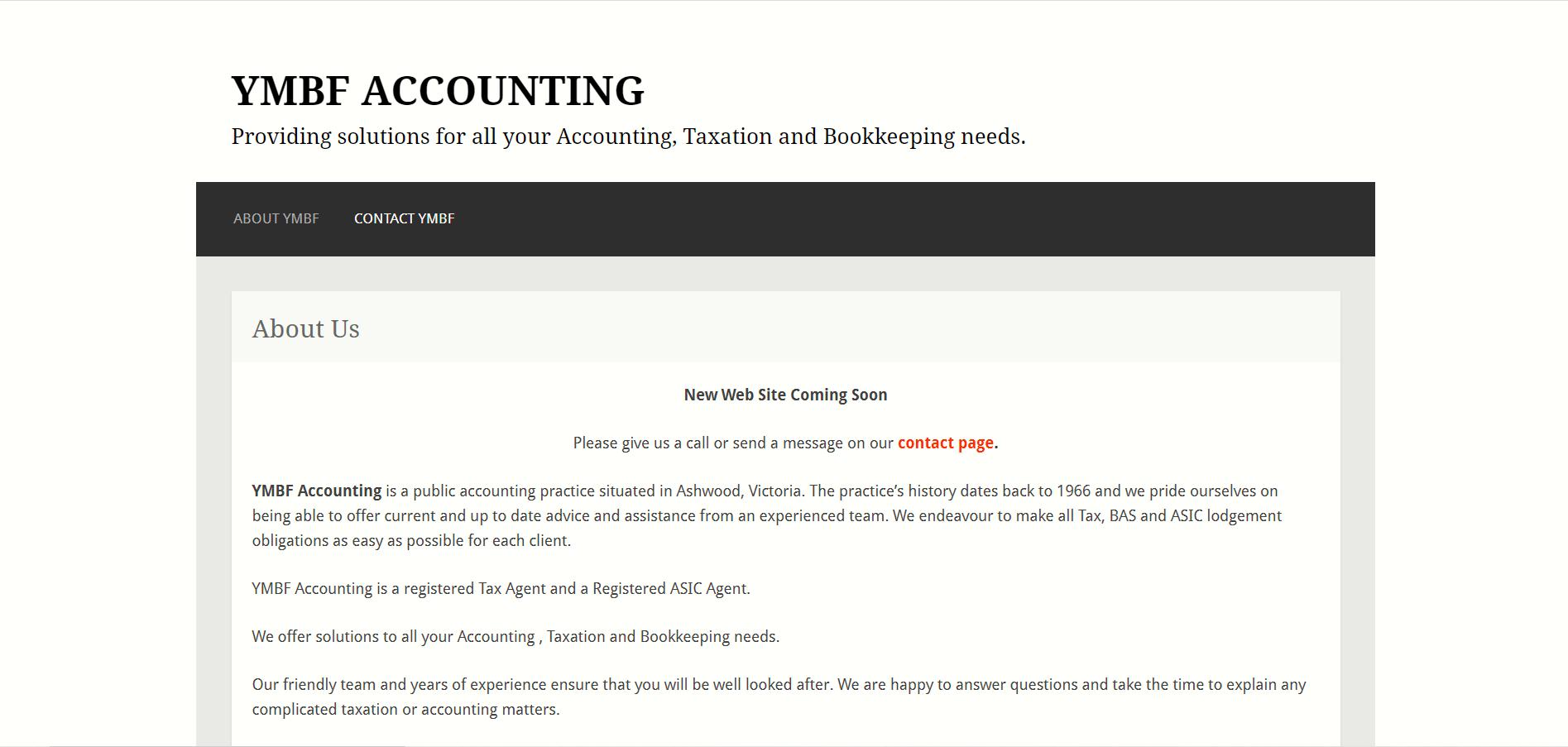 Ymbf Accounting