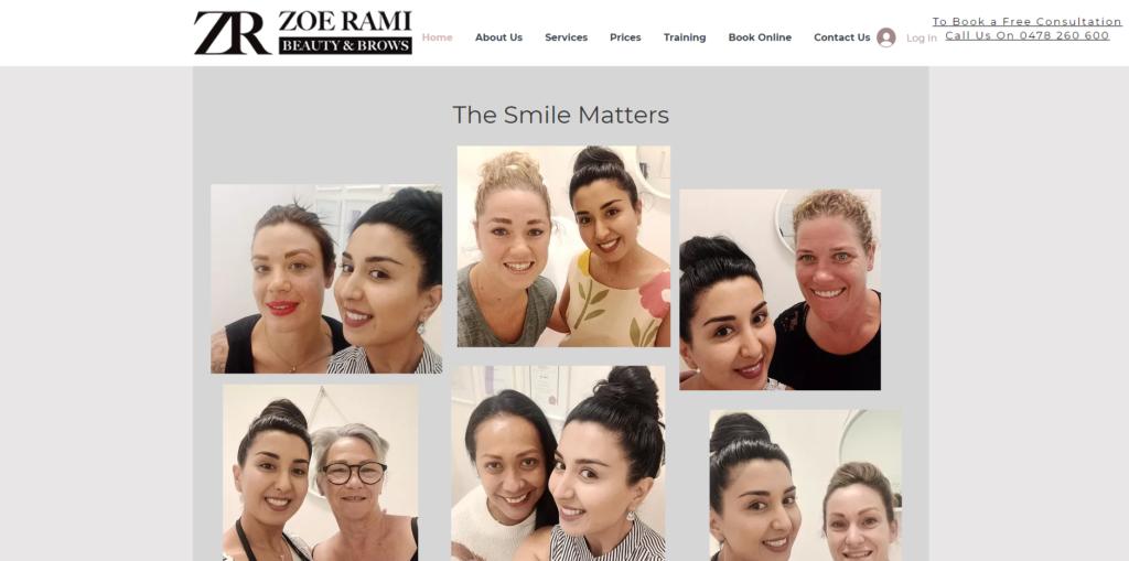 Zoe Rami Beauty Brows